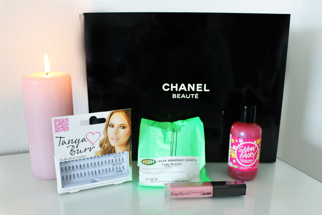 My First Give-Away! | Chanel, Tanya Burr & Lush