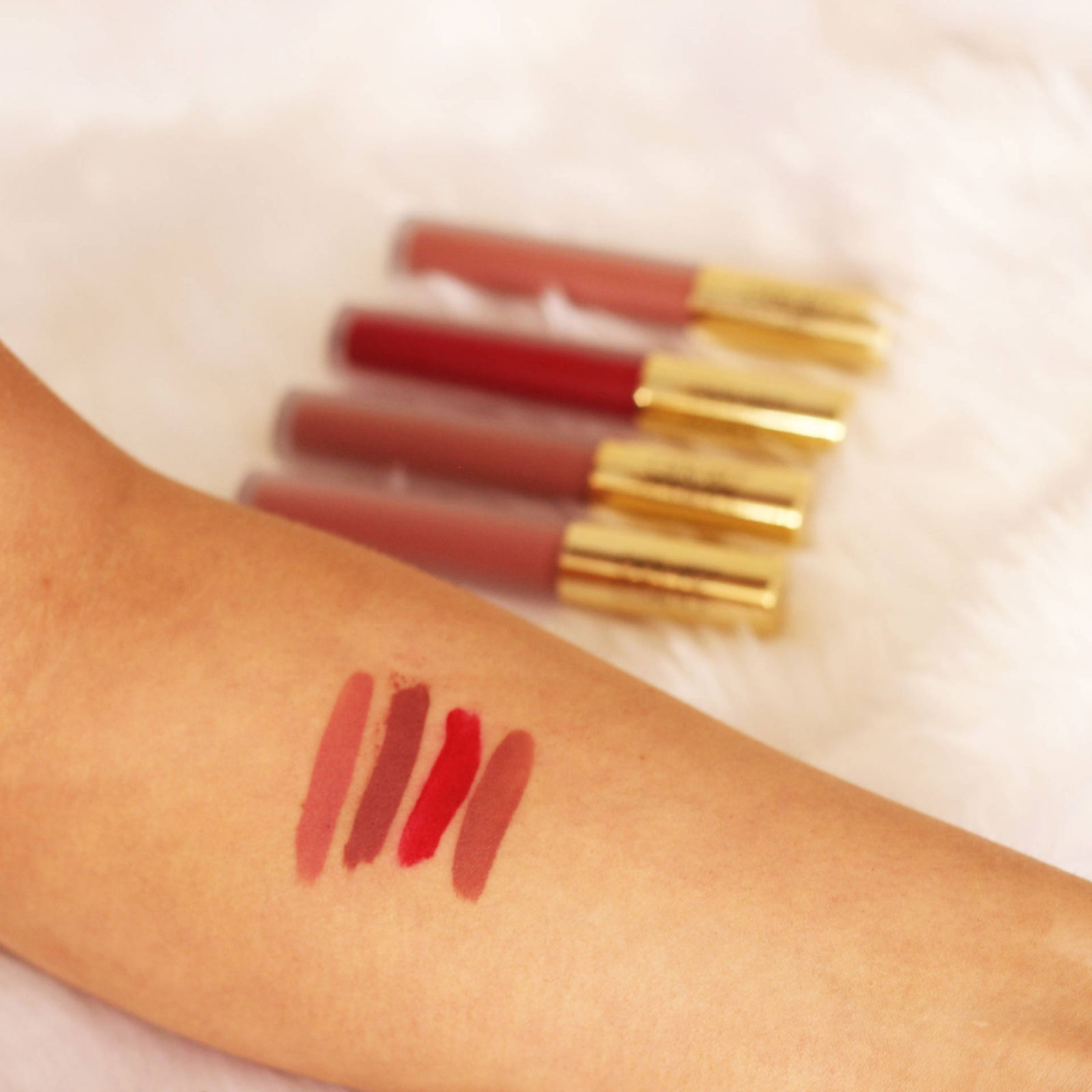 Gerard Cosmetics Hydra Matte Liquid Lipsticks Review