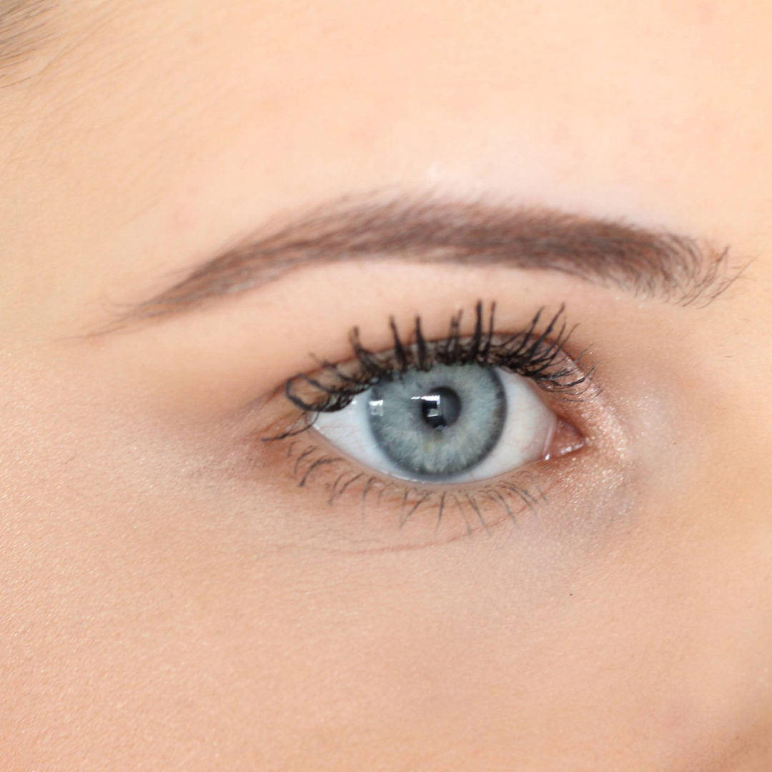 Nouveau Lashes LVL Review - After Treatment, With Mascara