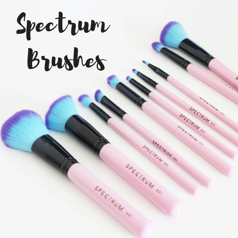 Spectrum Collections Makeup Brushes Review