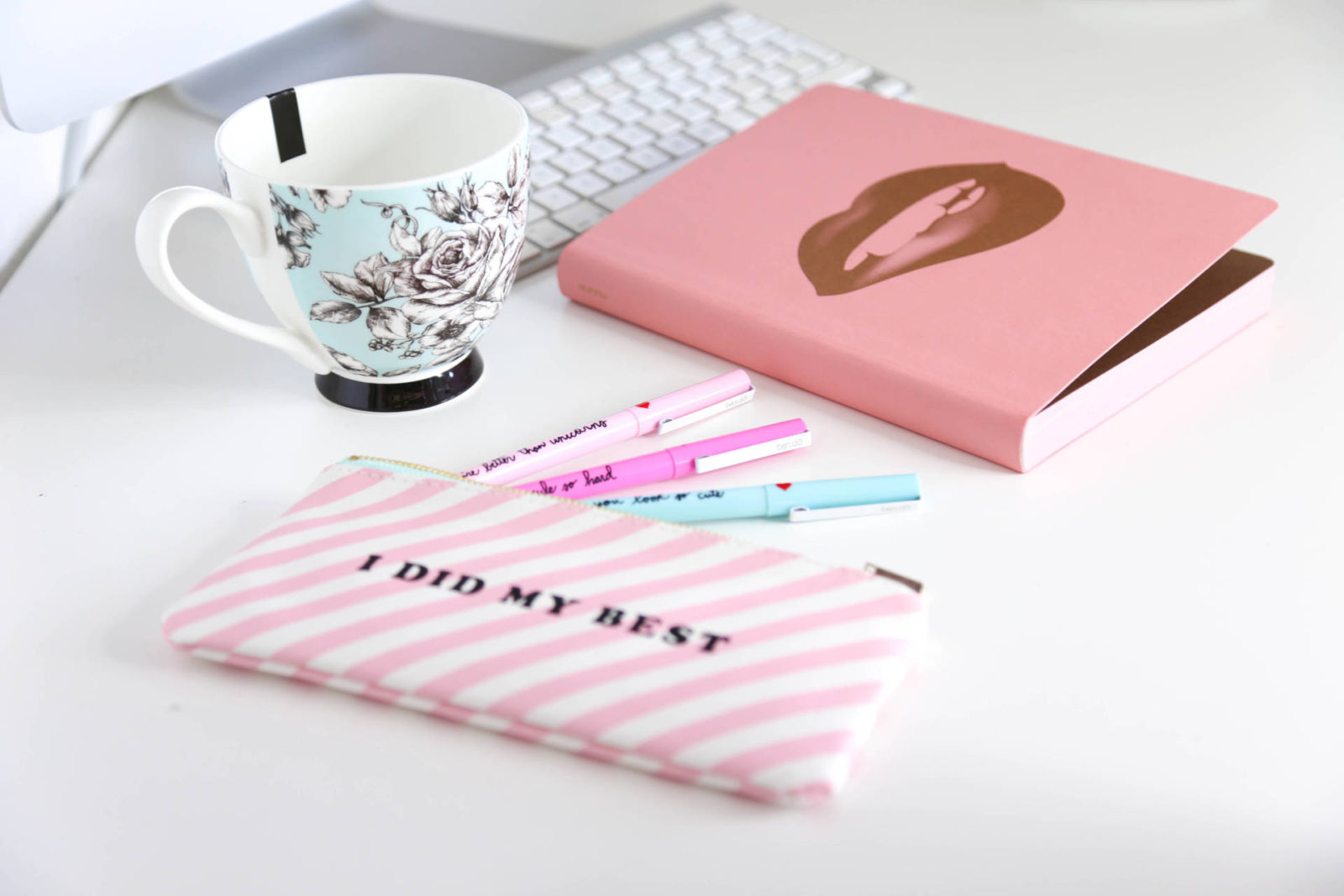 Pretty Pastel Pens & More | National Stationery Week with Rooi