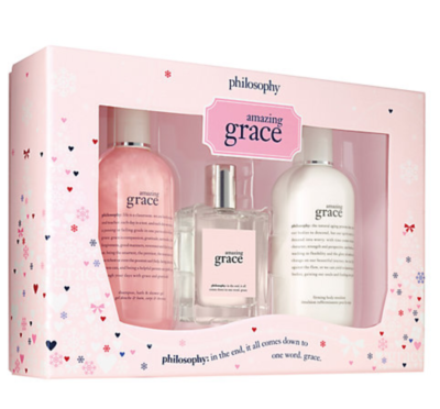 Philosophy Amazing Grace Body And Fragrance Gift Set