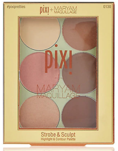 Pixi Strobe and Sculpt Palette